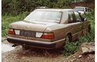 Mercedes 300 D, Heckansicht