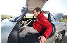 Mercedes 300 SL, Einstieg