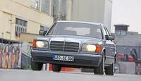 Mercedes 420 SE, Frontansicht