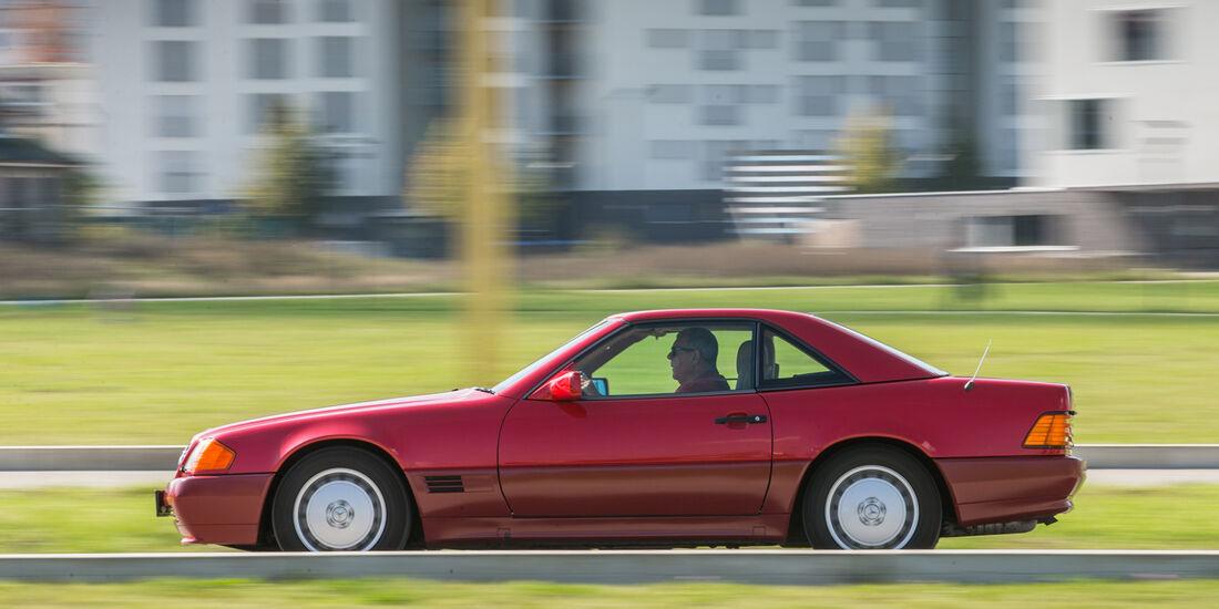 Mercedes 500 SL (R129), Seitenansicht