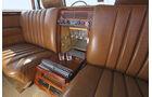 Mercedes 600 Landaulet, Interieur, Minibar