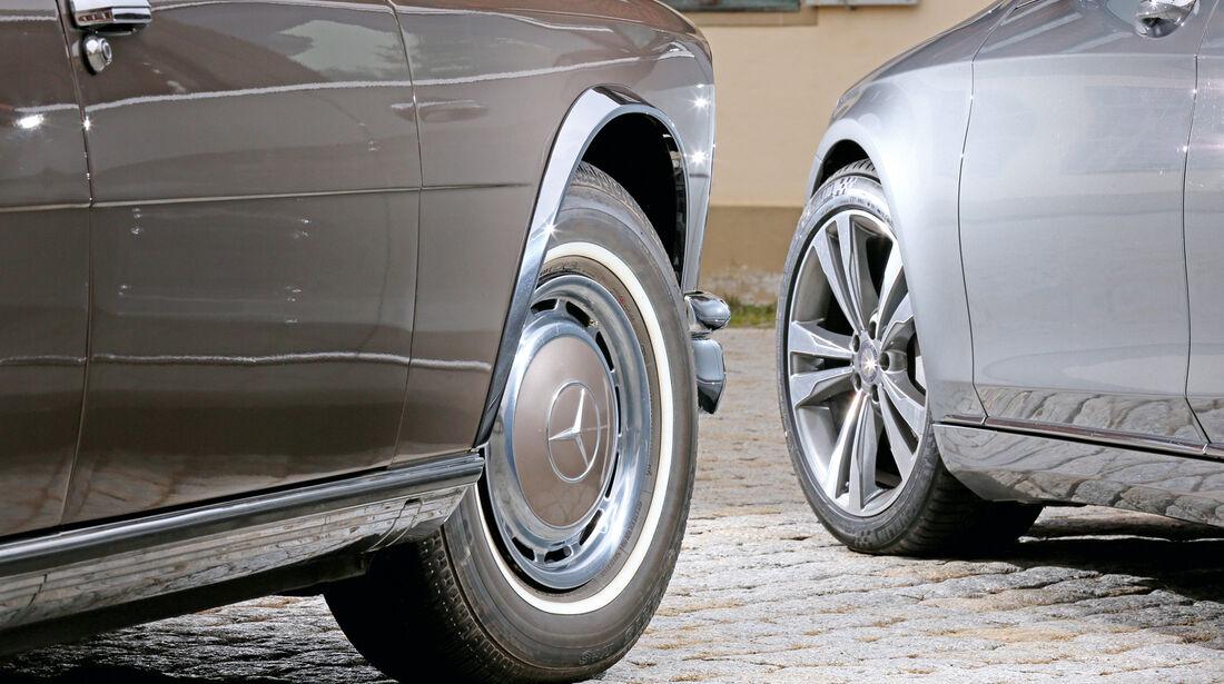 Mercedes 600, S 500, Rad, Felge