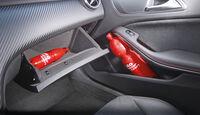 Mercedes A 200 CDI AMG Sport, Ablagefach, Getränkehalter