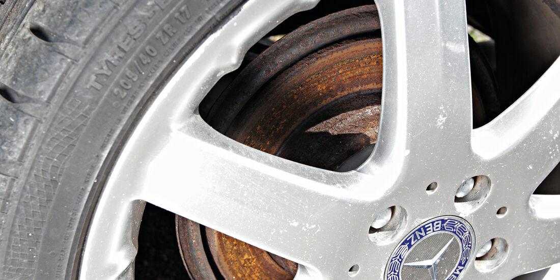 Mercedes A 210, Rad, Felge