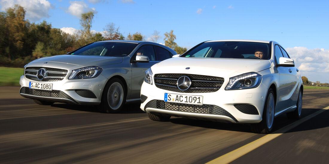 Mercedes A 250, Mercedes A 220 CDI, Frontansicht