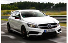 Mercedes A 45 AMG, Frontansicht