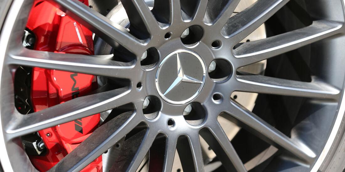 Mercedes A 45 AMG, Rad, Felge, Bremse