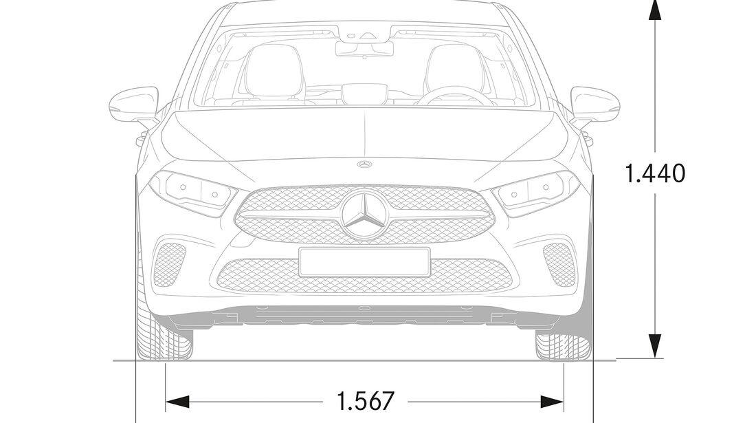 Mercedes A-Klasse 2018 W225