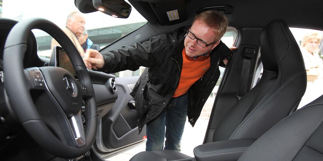 Mercedes A-Klasse, Cockpit, Dirk Gulde