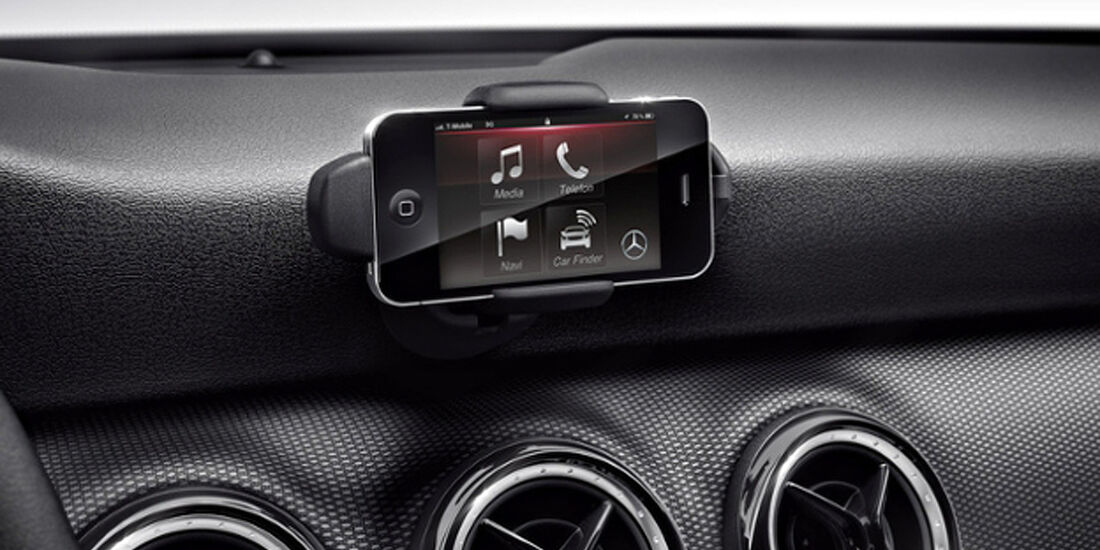 Mercedes A-Klasse, Drive Kit für das Apple iPhone