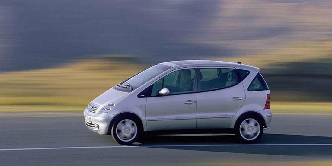 Mercedes A-Klasse, Facelift, 2001
