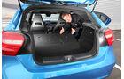 Mercedes A-Klasse, Kofferraum, Sitz umklappen