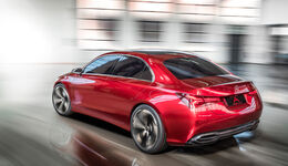 Mercedes A-Klasse Limousine Concept Shanghai 2017