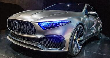 Mercedes A-Klasse Limousine Sedan Concept Shanghai 2017