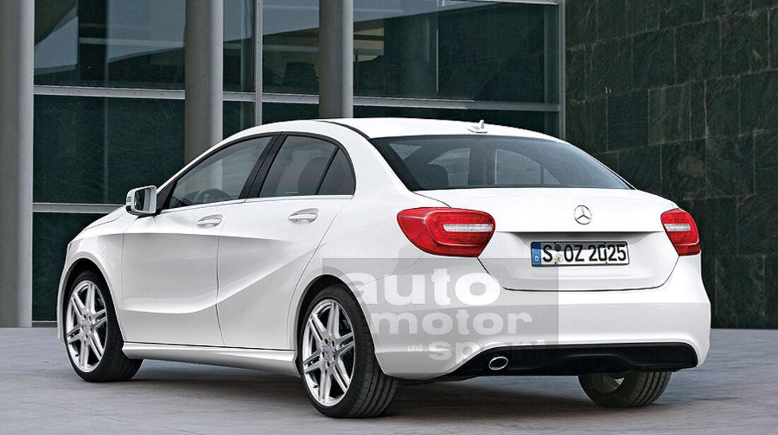 Mercedes A-Klasse Stufenheck