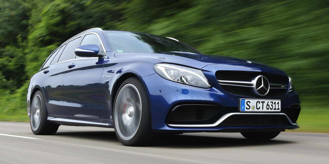 Mercedes-AMG C 63 S T-Modell, Frontansicht