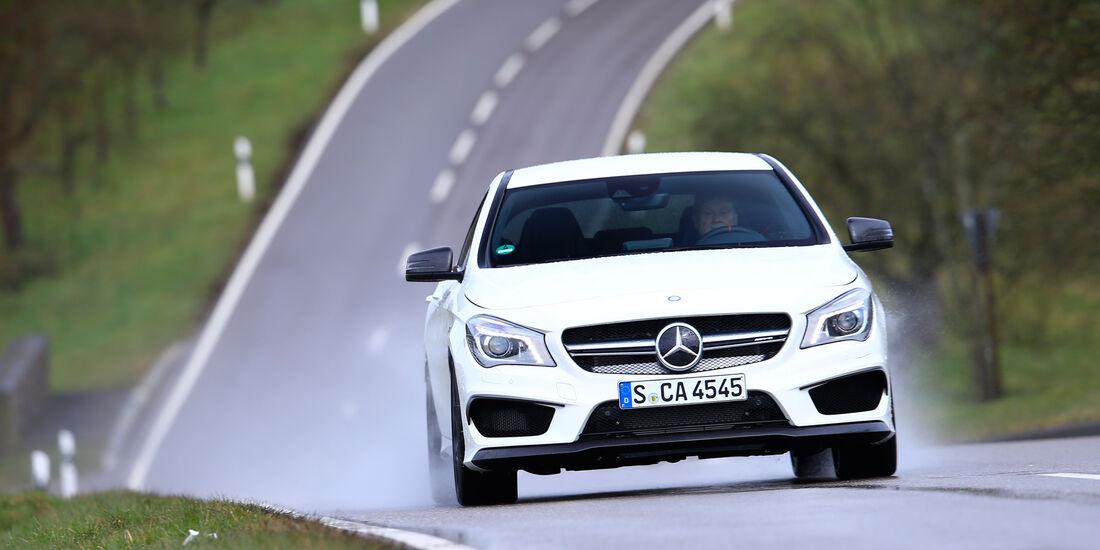 Mercedes-AMG CLA 45, Frontansicht