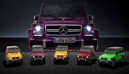 "Mercedes-AMG G 63 - Modellauto-Serie - ""Crazy Colors"""
