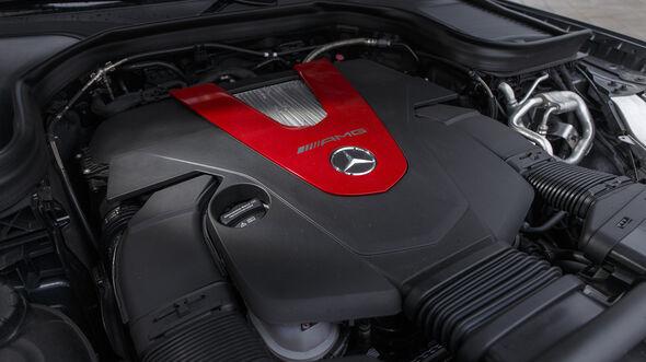 Mercedes-AMG GLC 43 4Matic, Motor