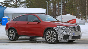 Mercedes-AMG GLC 63 Coupé Erlkönig