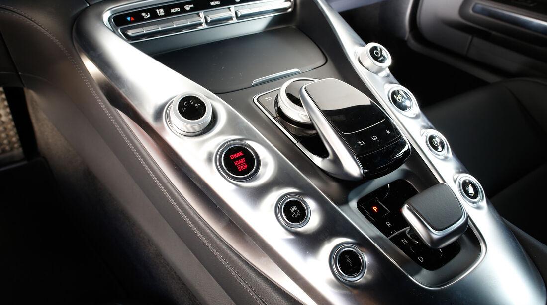 Mercedes-AMG GT, Bedienelemente