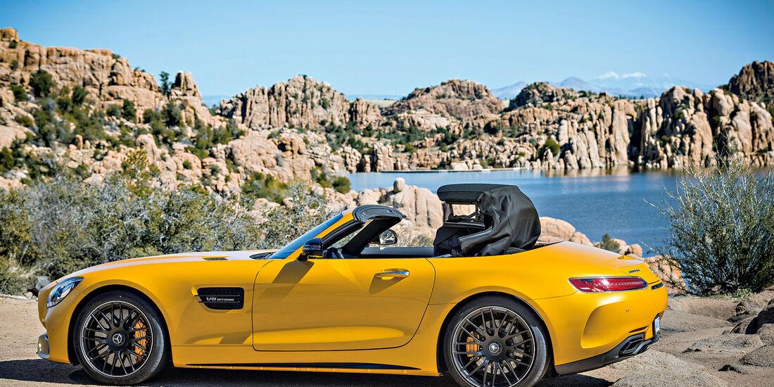 Mercedes-AMG GT C Roadster Verdeck