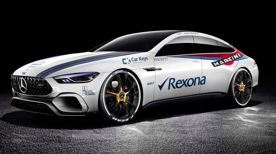Mercedes AMG GT Concept - Williams FW40 - Lackierun