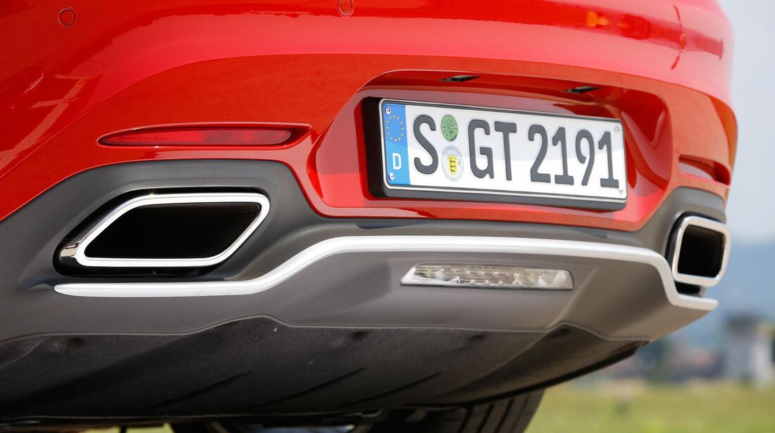 Mercedes-AMG GT, Endrohre, Auspuff
