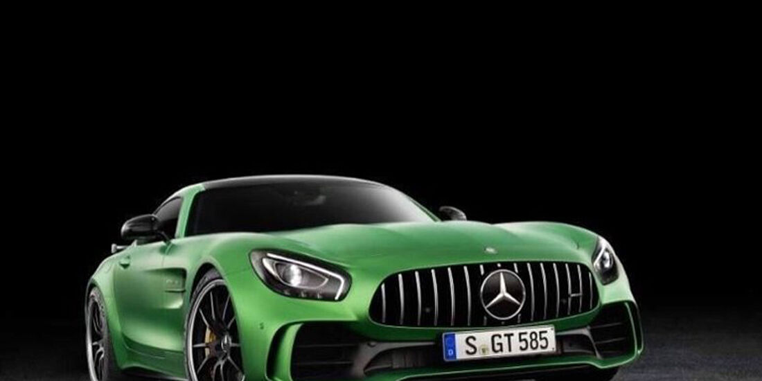 Mercedes-AMG GT R leaked
