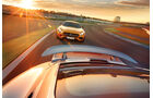 Mercedes-AMG GT S, Porsche 911 Turbo, Rennstrecke