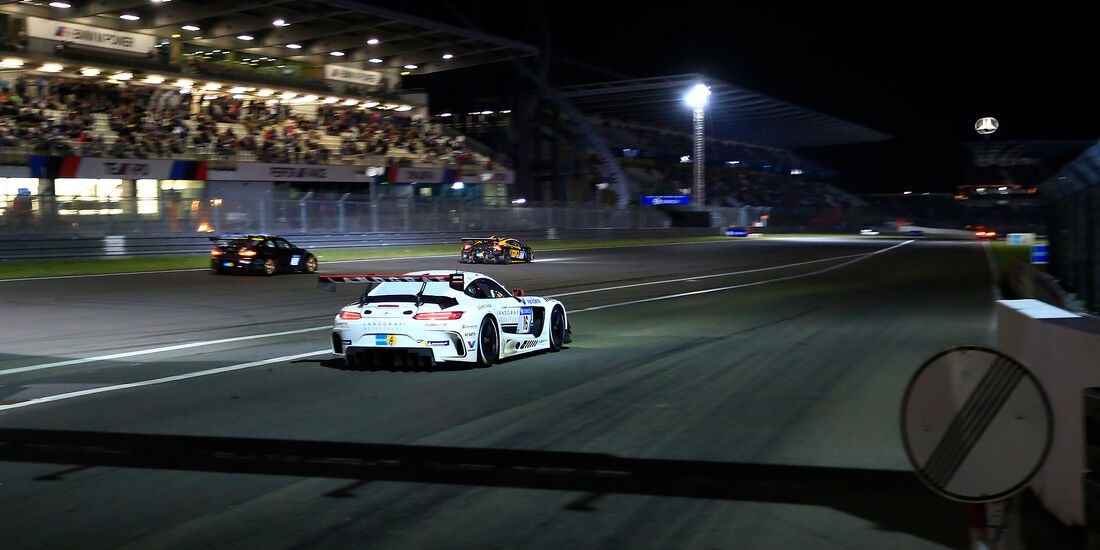 Mercedes AMG GT3 - Startnummer #16 - 24h-Rennen Nürburgring 2018 - Nordschleife - 13.5.2018