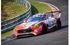 Mercedes-AMG GT3 - Startnummer #23 - Rooster Rojo J2Racing - SP9 Pro-Am - VLN 2019 - Langstreckenmeisterschaft - Nürburgring - Nordschleife