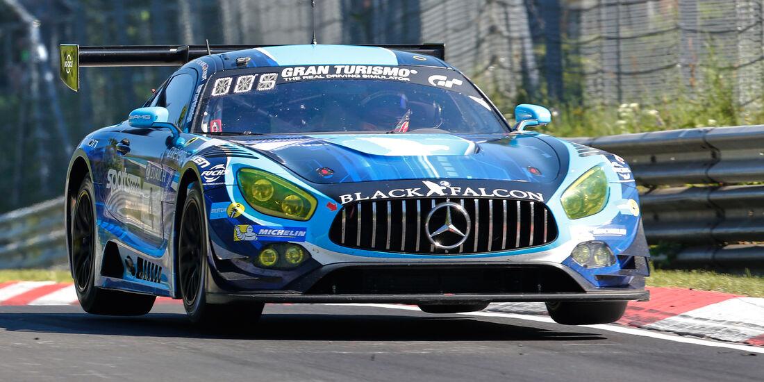 Mercedes AMG GT3 - Startnummer #4 - 2. Qualifying - 24h-Rennen Nürburgring 2017 - Nordschleife