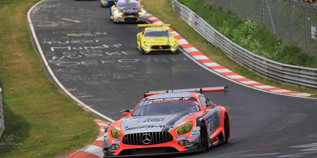 Mercedes-AMG GT3 - Startnummer #47 - 24h-Rennen Nürburgring - Nordschleife - Samstag - 12.5.2018