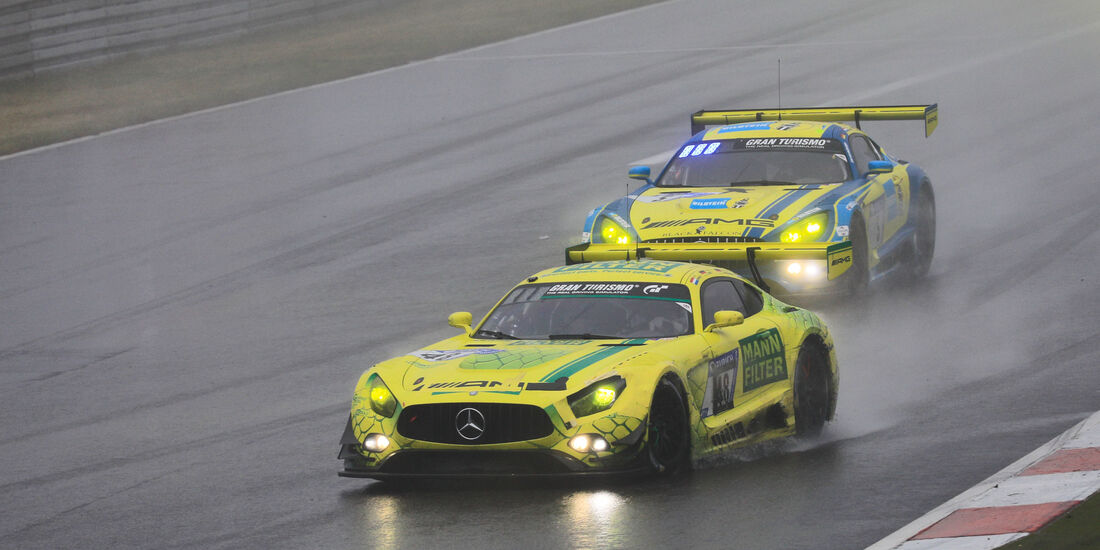 Mercedes-AMG GT3 - Startnummer #48 - 24h-Rennen Nürburgring 2018 - Nordschleife - 13.5.2018