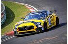 Mercedes-AMG GT4 - Startnummer #152 - Black Falcon Team Knuffi - SP8T - VLN 2019 - Langstreckenmeisterschaft - Nürburgring - Nordschleife