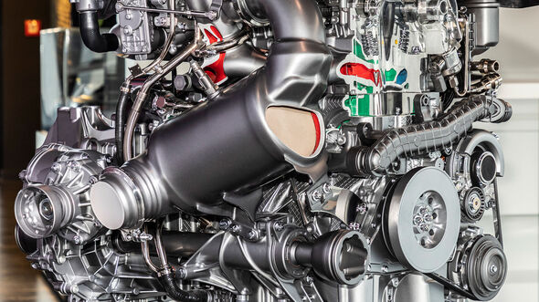 Mercedes-AMG M 139-Motor