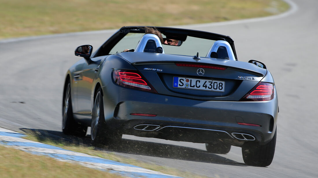 Mercedes-AMG SLC 43, Heckanasicht