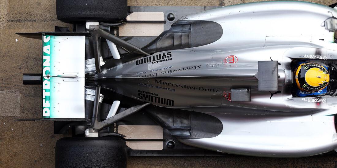 Mercedes AMG W04 Formel 1 2013