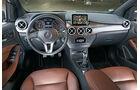 Mercedes B 160 CDI, Cockpit