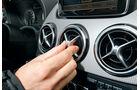 Mercedes B 200 CDI, Ausströmer