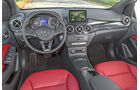 Mercedes B 200 CDI, Cockpit