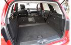 Mercedes B 200, Ladefläche, Kofferraum
