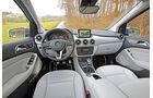 Mercedes B 200 NGD, Cockpit