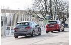 Mercedes B200d, BMW 218d Active Tourer