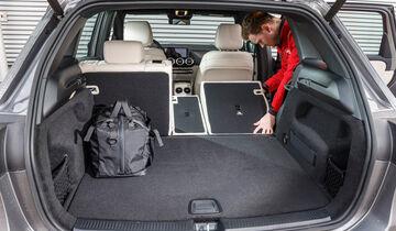 Mercedes B200d, Kofferraum