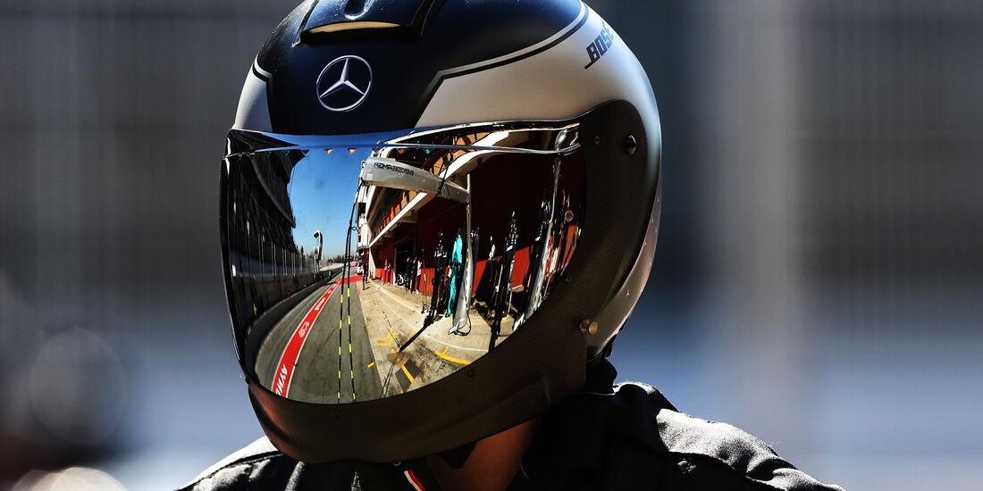 Mercedes - Barcelona - F1-Test - 27. Februar 2019
