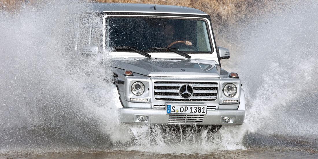 Mercedes-Benz 240 GD, Frontansicht