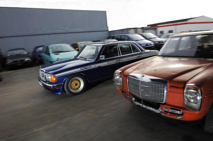 Mercedes- Benz 280 E AMG, Seitenansicht