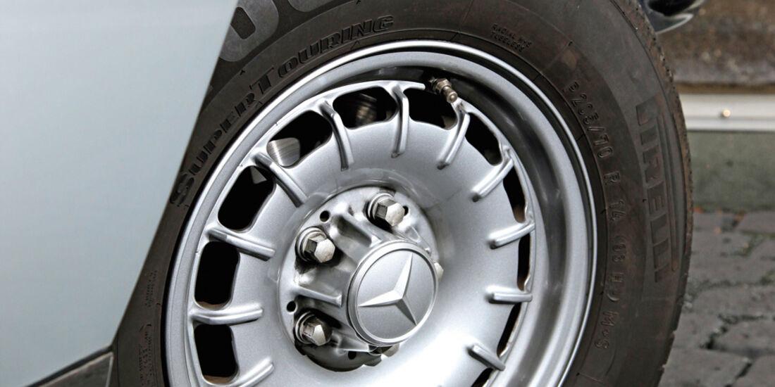 Mercedes-Benz 280 SE, Rad, Felge